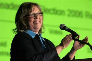 Green Party of Canada  leader Elizabeth May.