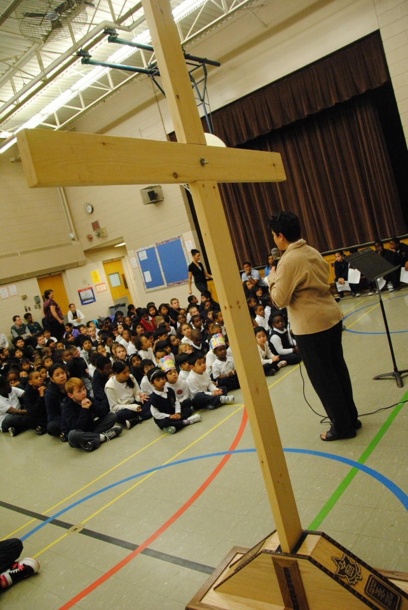 Fighting the deficit by defunding the Catholic school system