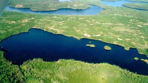 Ontario's Experimental Lakes Area.